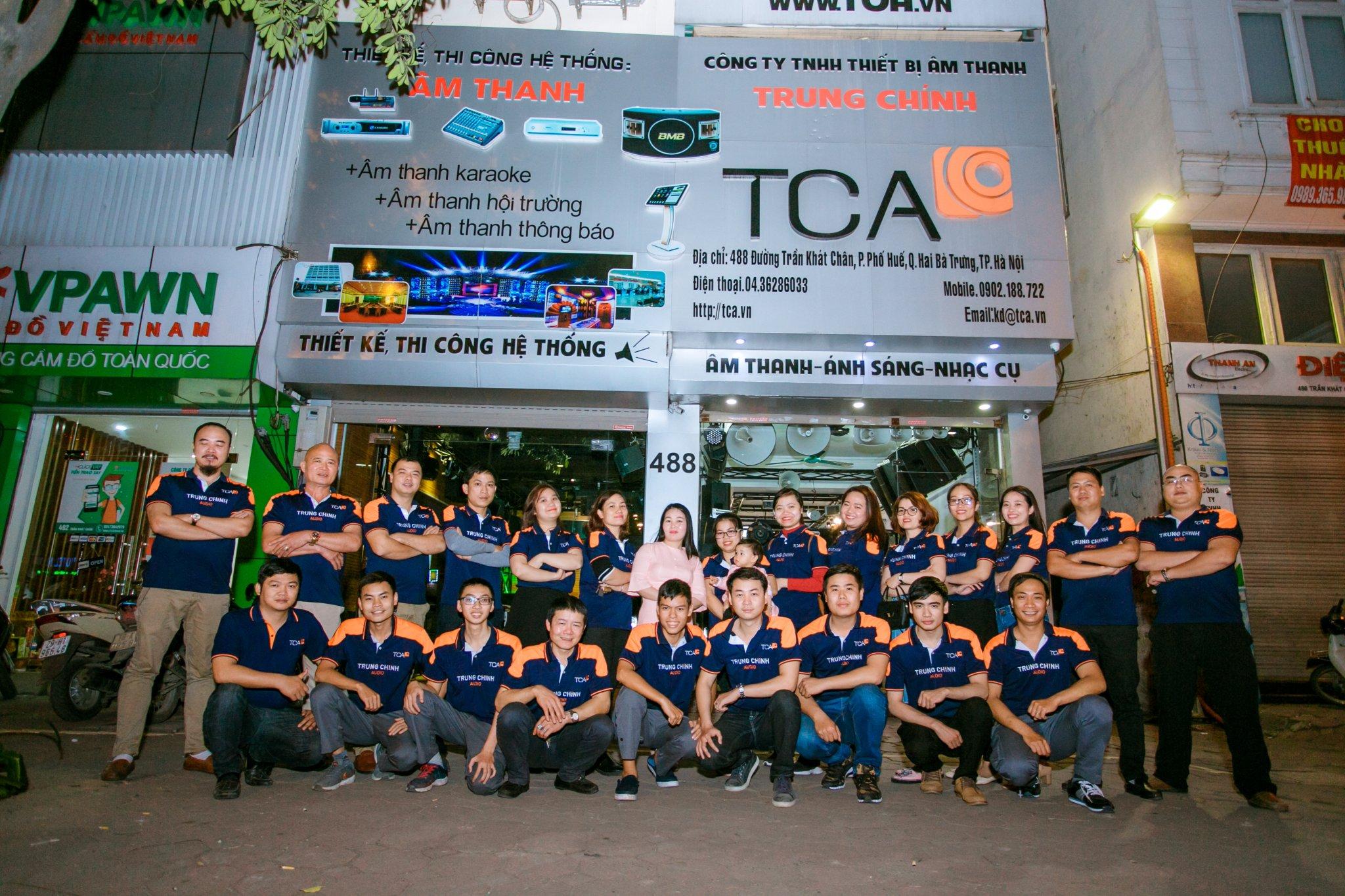 Công ty tại địa chỉ số 488, Trần Khát Chân, phường Phố Huế, quận Hai Bà Trưng, Hà Nội